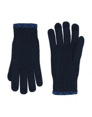 Перчатки DRUMOHR. Цвет: темно-синий