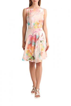 Платье Apart. Цвет: пудровый, мультицвет