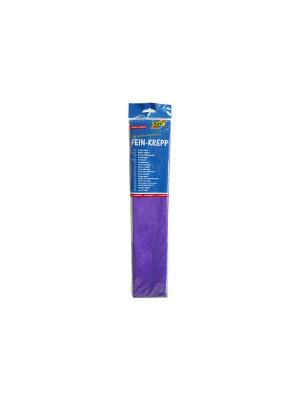 Креп-бумага для изготовления поделок, разм. 50x250 см, фиолетовая FOLIA. Цвет: фиолетовый