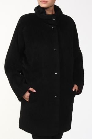 Пальто Луиза Веталика. Цвет: черный