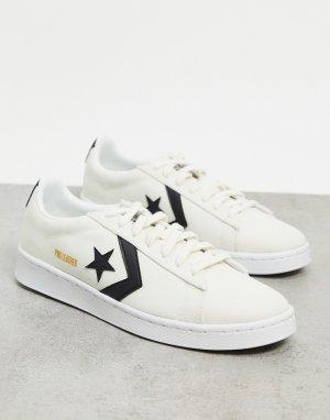 Белые кроссовки Pro Ox Court Daze-Белый Converse