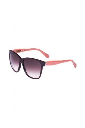 Очки солнцезащитные Enni Marco. Цвет: коричневый