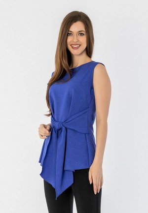 Топ S&A Style. Цвет: синий