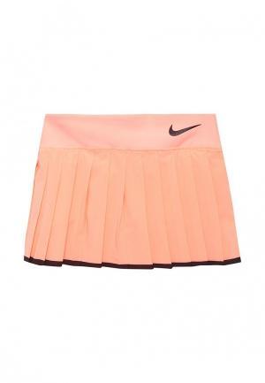 Юбка-шорты Nike GIRLS NKCT VICTORY SKIRT. Цвет: розовый
