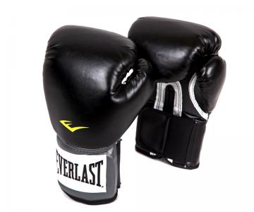 Перчатки тренировочные PU Pro Style, цвет: черный, 12 oz. Everlast. Цвет: черный