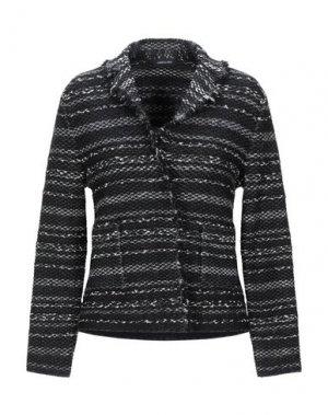 Пиджак ANNECLAIRE. Цвет: черный