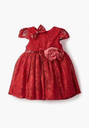 Платье MiLi. Цвет: красный