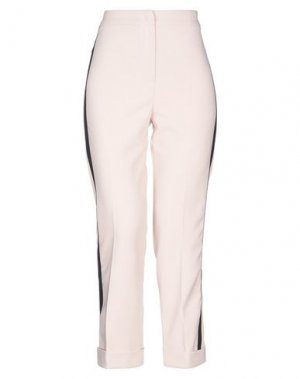 Повседневные брюки HANITA. Цвет: пудровый