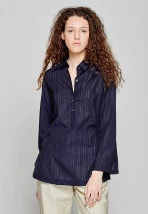 Блуза Colletto Bianco. Цвет: синий