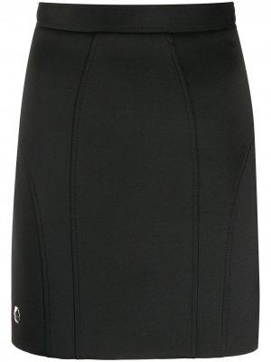 Облегающая юбка мини Philipp Plein. Цвет: черный