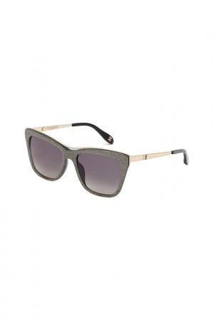 Солнцезащитные очки Carolina herrera NEW YORK. Цвет: серый