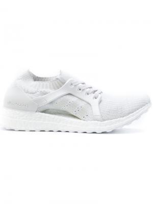 Кроссовки UltraBOOST X adidas. Цвет: белый