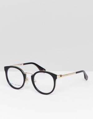 Очки в черной оправе кошачий глаз -Черный Marc Jacobs