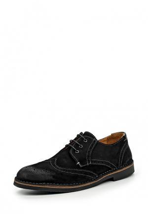 Туфли Loake LO026AMIRX15. Цвет: черный