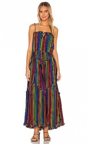 Макси платье dynamic SWF. Цвет: черный