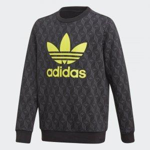 Свитшот Crew Originals adidas. Цвет: черный