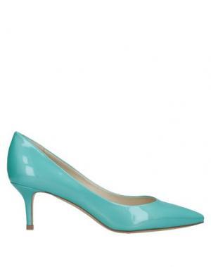 Туфли ALBERTO BRESSAN. Цвет: бирюзовый