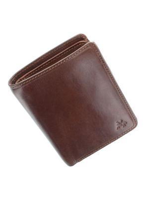 Бумажник Lucca Visconti. Цвет: рыжий
