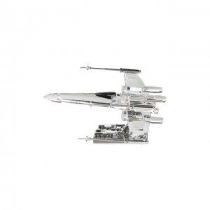 Скульптура Star wars - X-Wing Starfighter Swarovski. Цвет: прозрачный