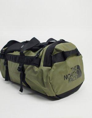 Зеленая спортивная сумка среднего размера Base Camp-Зеленый The North Face