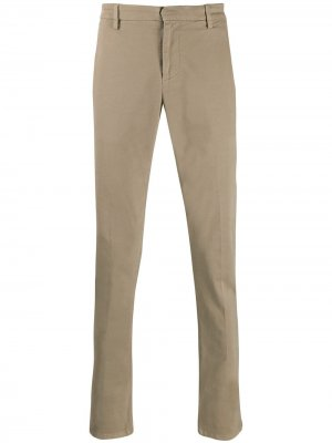 Классические брюки чинос Dondup. Цвет: нейтральные цвета