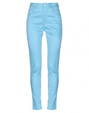Повседневные брюки REBEL QUEEN by LIU •JO. Цвет: небесно-голубой
