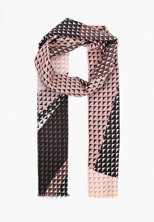 Палантин Leo Ventoni. Цвет: розовый
