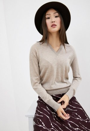 Пуловер Weekend Max Mara. Цвет: бежевый