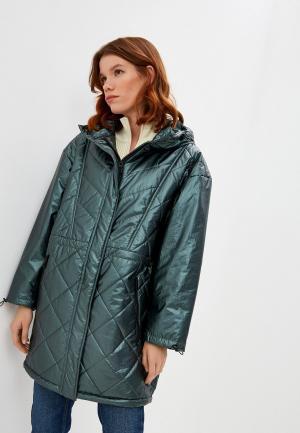 Куртка утепленная Bimba Y Lola. Цвет: зеленый
