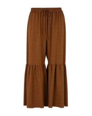 Повседневные брюки SEE BY CHLOÉ. Цвет: коричневый