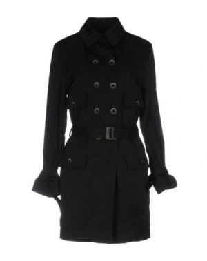 Легкое пальто HOGAN by KARL LAGERFELD. Цвет: черный