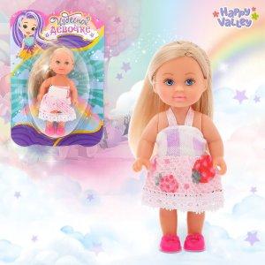 Открытка с куклой Happy Valley