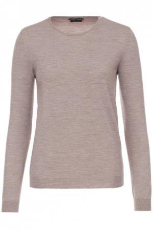 Шерстяной пуловер Tom Ford. Цвет: бежевый
