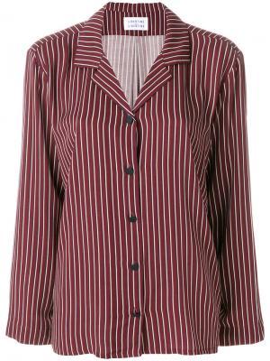 Рубашка в полоску Libertine-Libertine. Цвет: красный