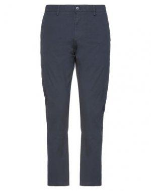 Повседневные брюки DOCKERS. Цвет: темно-синий