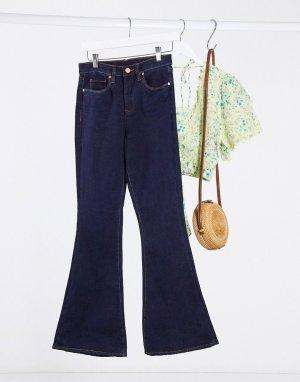 Синие расклешенные джинсы Blank NYC-Синий NYC