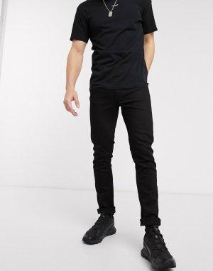 Черные джинсы скинни -Черный Religion