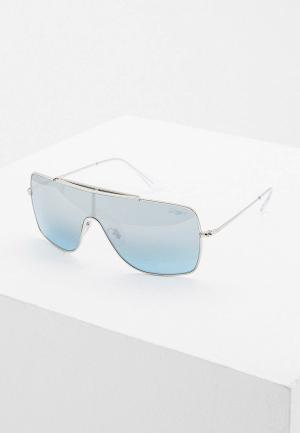 Очки солнцезащитные Ray-Ban® RB3697 003/Y0. Цвет: серебряный