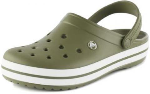 Шлепанцы Crocband, размер 41-42 Crocs. Цвет: зеленый