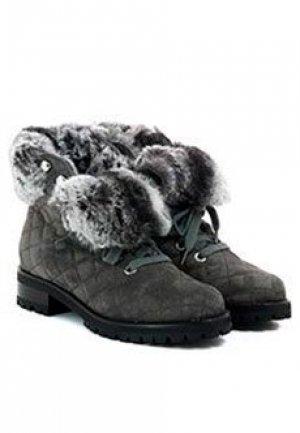 Ботинки LERRE. Цвет: серый