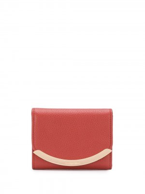 Бумажник с логотипом See by Chloé. Цвет: красный