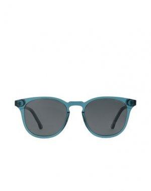 Солнечные очки KOMONO. Цвет: небесно-голубой
