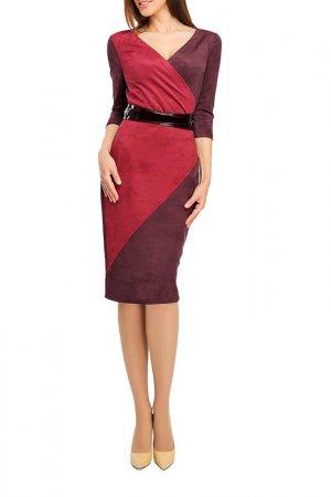 Платье Giulia Rossi. Цвет: бордовый, сливовый