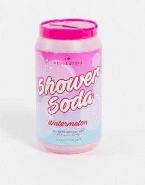 Гель для душа с ароматом арбузного лимонада – Tasty Shower Soda Watermelon-Бесцветный I Heart Revolution