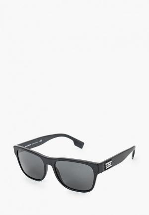 Очки солнцезащитные Burberry BE4309 346487. Цвет: черный