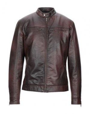Куртка CENSURED. Цвет: темно-коричневый