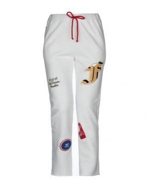 Повседневные брюки FRANKLIN & MARSHALL. Цвет: белый