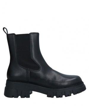 Полусапоги и высокие ботинки ASH. Цвет: черный