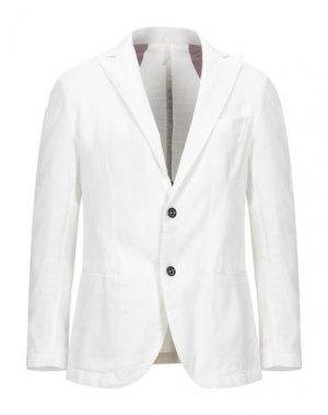 Пиджак MR MASSIMO REBECCHI. Цвет: белый