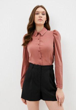 Блуза Kira Plastinina. Цвет: коралловый